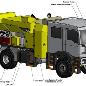 Forestry Fire Pumper