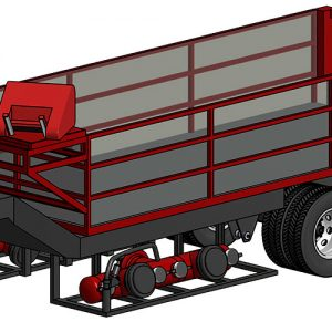 Industrial Hose Trailer