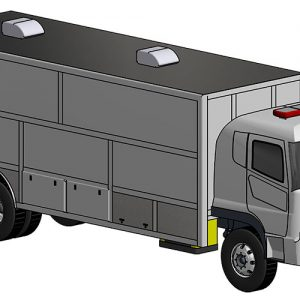 Mobile Clinic Chassis Cab Unit