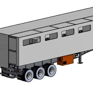 Mobile Medical Ward – Semi-Trailer