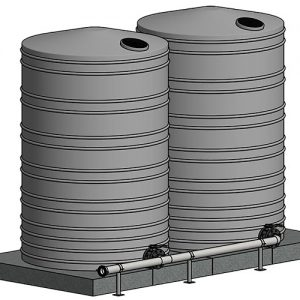 Water / Foam Storage Units